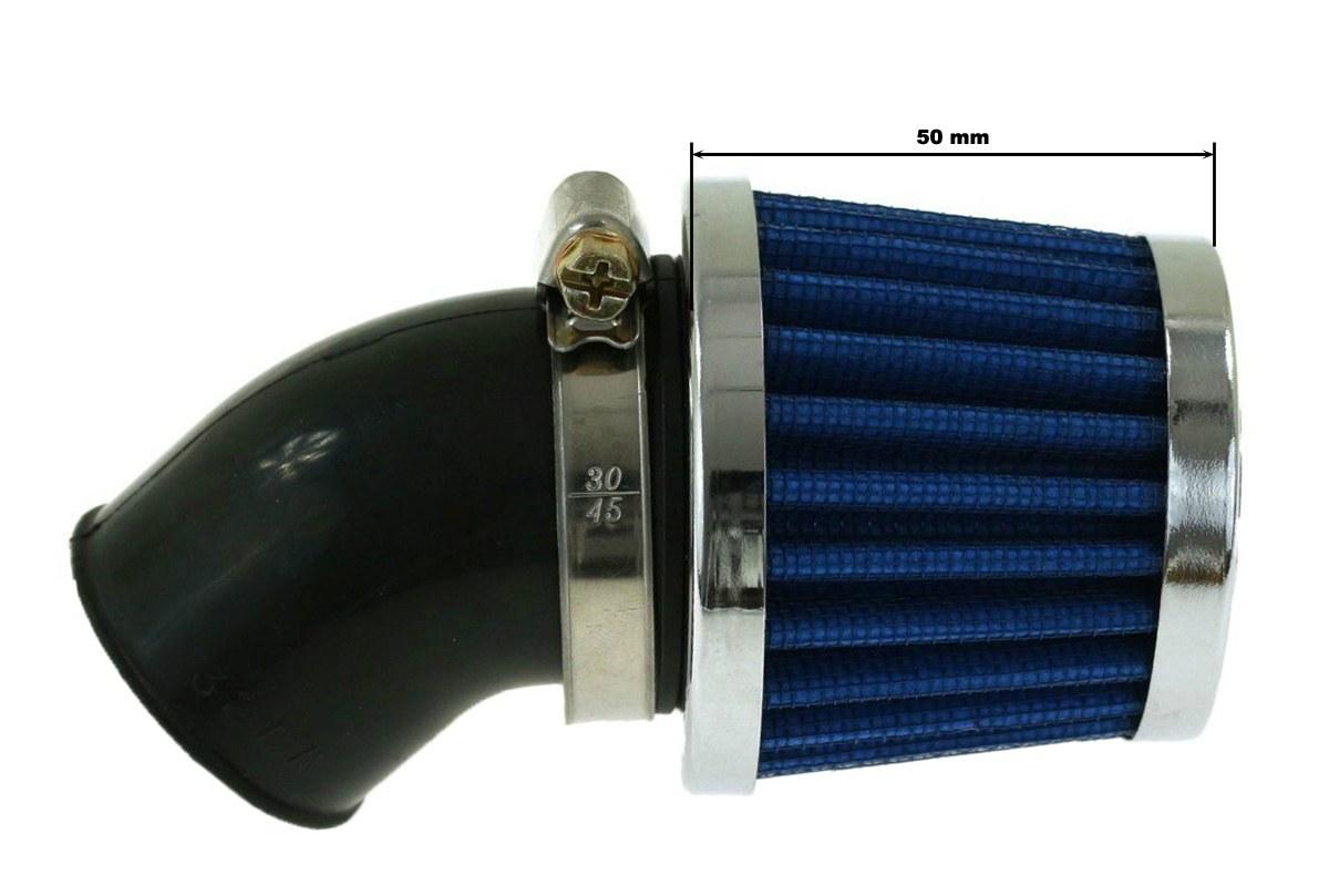 Moto Filtr stożkowy SIMOTA 45st 38mm JS-9243-6 - GRUBYGARAGE - Sklep Tuningowy